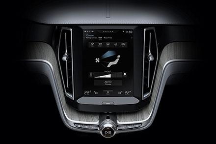 Насенсорном экране сосредоточено управление практически всеми дополнительными системами автомобиля.