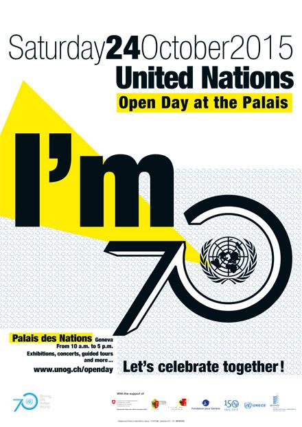 Женева, Дворец Наций, 24октября— День открытых дверей.