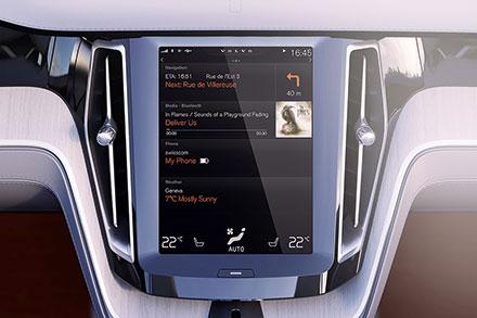 Вместо привычных кнопок— сенсорные экраны.
