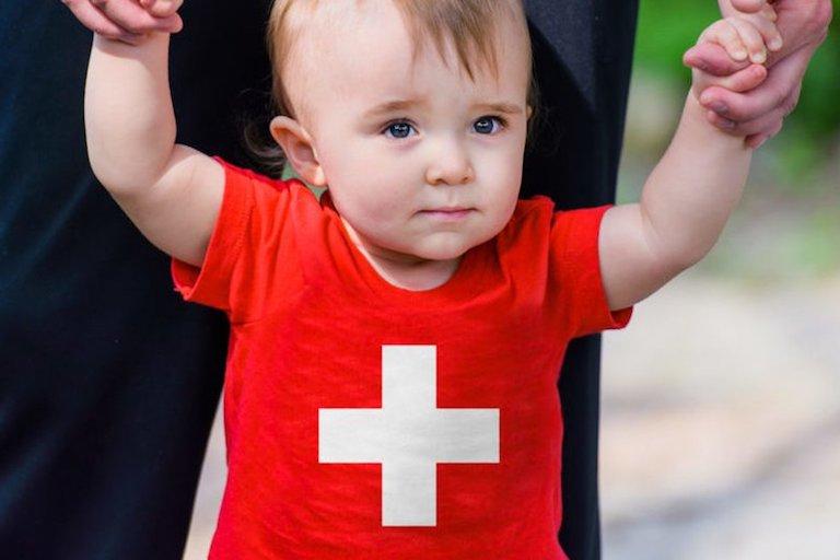 Имена детей в Швейцарии