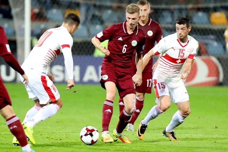 Швейцария - Латвия