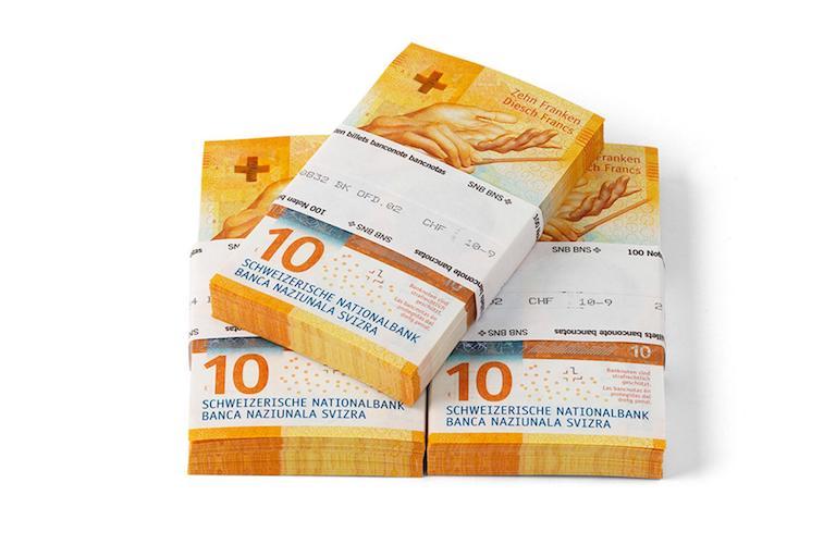 10 швейцарских франков