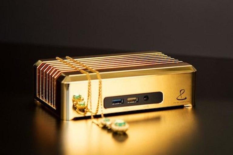 Компьютер из золота