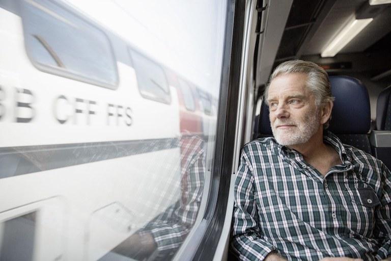 швейцарский поезд