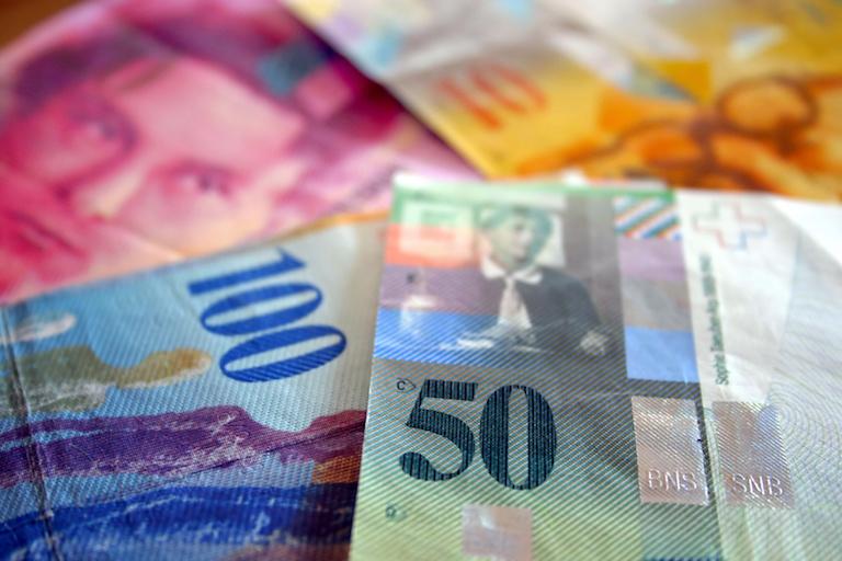 швейцарские франки
