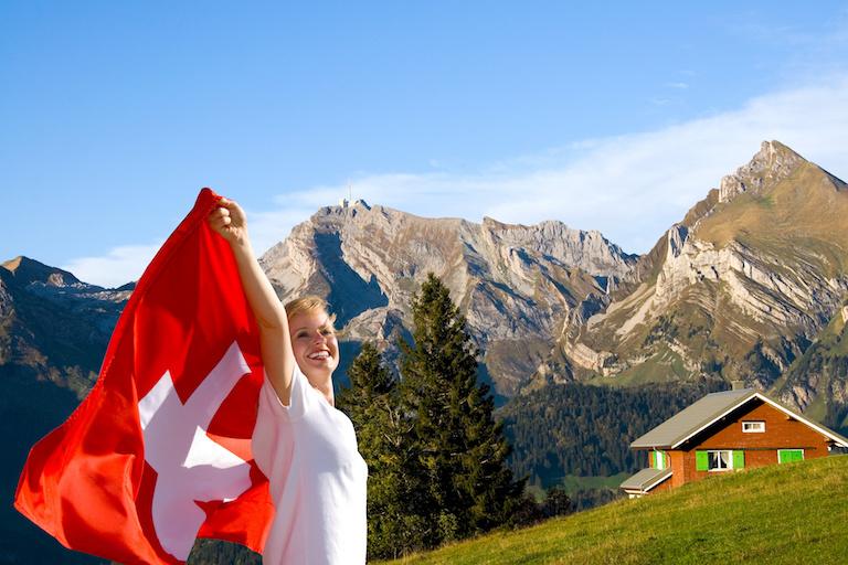Женщины в Швейцарии