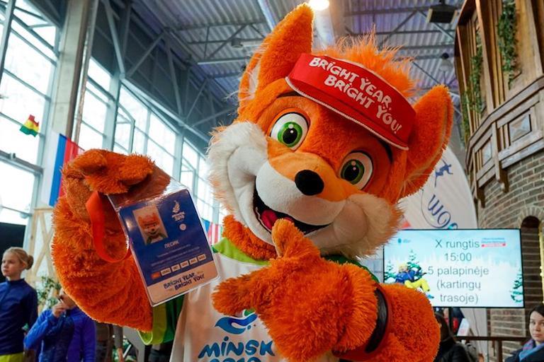 Талисман вторых Европейских игр