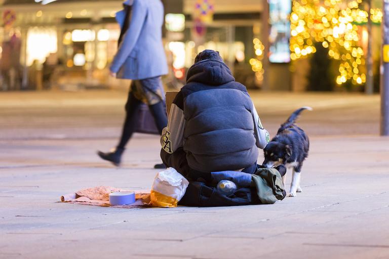 Бедные в Швейцарии