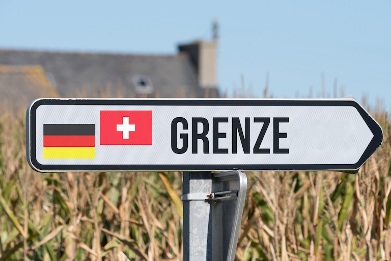 Граница со Швейцарией