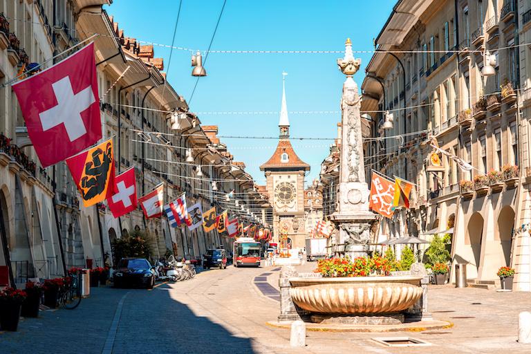 Улица в Берне
