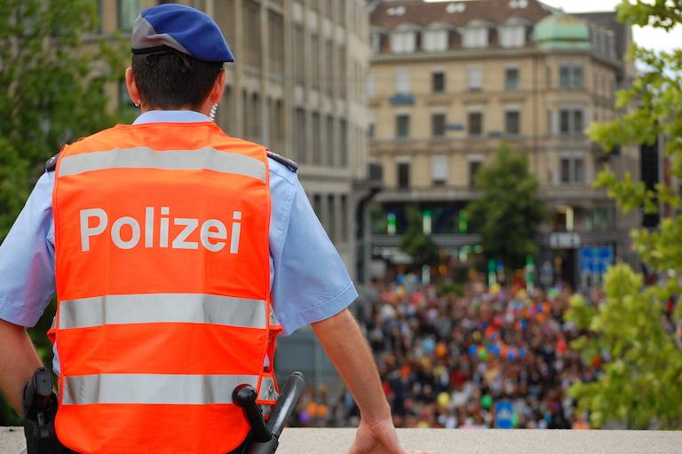 Полиция Цюриха