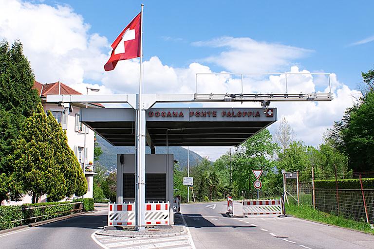 Швейцарско-итальянская граница