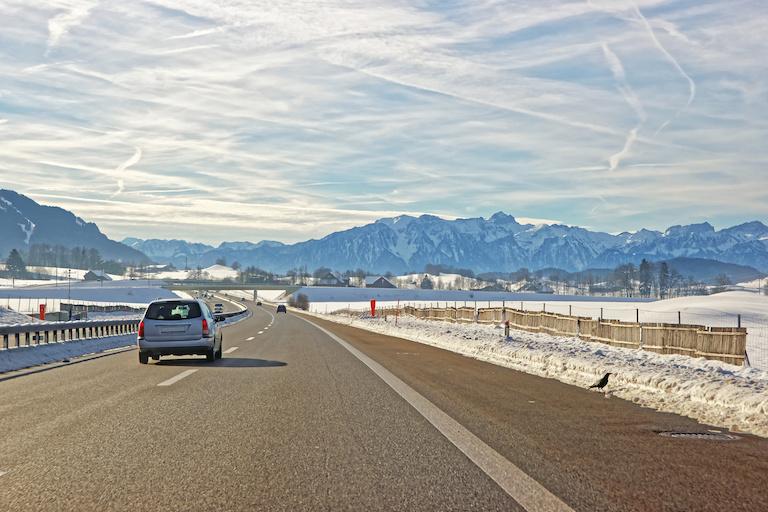 Швейцария дорога
